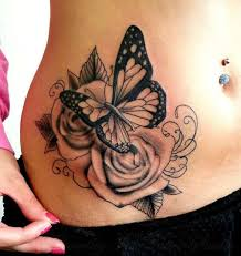 ronmileyink by black and grey roses side flowers
