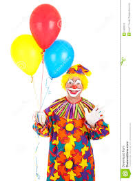 balloons clown clown waving with balloons stock photo image of dressed 14095510