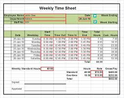 Daily Timesheet Template Excel Sle Payroll Timesheet Employee Timesheet Template Printable