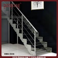 Steel Handrails For Steps Glass Stairs Grill Design With Steel Railings View Glass Stairs