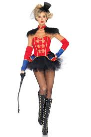 Ring Halloween Costume Red Black 4 Piece Ring Mistress Costume Costume Costumes