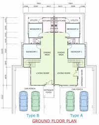 large home floor plans large home plans floor plan single storey house fresh semi detached
