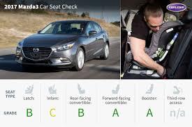 mazda 3 convertible 2017 mazda3 car seat check news cars com