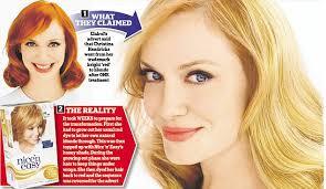 how chelsea houska dyed her hair so red clairol s nice n easy s hair dye claimed mad men s christina