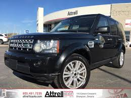 toyota land rover 1990 used 2011 land rover lr4 4 door sport utility in brampton on 39187a