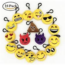 snagshout 16 pack emoji mini plush pillows easter gifts