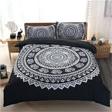 Black Bedding Sets Queen Black And Purple Bed Set Smartwedding Co