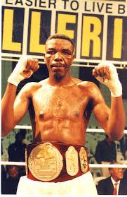 Light Heavyweight Champion Melusi Khoza Sa Light Heavyweight Champion 1999 African Ring