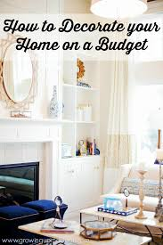 how to decorate your home on a budget annmarie john