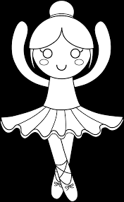 ballet clipart black and white free clip art images freeclipart pw