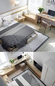 schlafzimmer mit eingebautem schreibtisch stilvoll schlafzimmer mit eingebautem schreibtisch durch