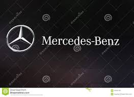 mercedes benz logo mercedes benz logo editorial image image of drives name 16294720