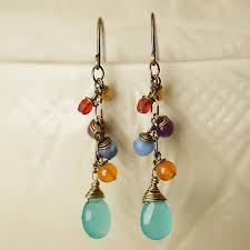 mardi gras earrings vintage light years