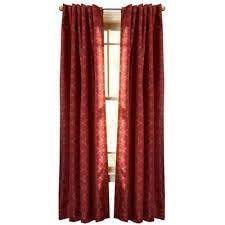 Home Depot Curtains Martha Stewart Living Barn Pageant Back Tab Curtain 108 In