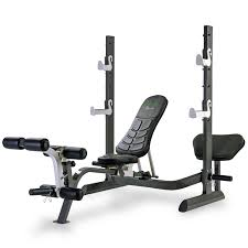 Weight Benches Sale Tunturi Pure Olympic Weight Bench With Rack And Folding Design