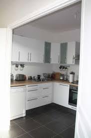cuisine laqu馥 blanche plan de travail gris cuisine laqu馥 ikea 58 images hauteur element haut cuisine