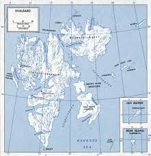 Map Of The World To Scale by Large Scale Map Of Svalbard Svalbard Europe Mapsland Maps