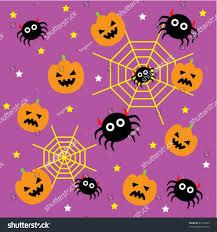 awesome halloween wallpaper cute halloween wallpaper stock vector 61709029 shutterstock