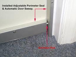 Sound Dening Interior Doors Door Automatic Door Sweep Soundproof Cow
