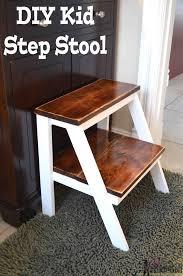 Diy Childrens Desk by Kid U0027s Step Stool Her Tool Belt