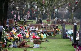 colchester poundland cemetery s defiance of ban on grave