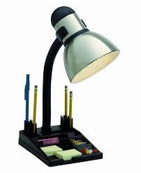 Organizer Desk Amazon Com Satco Products 76 356 Organizer Desk Lamp Steel Black