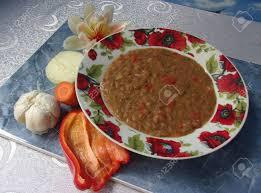cuisine bulgare lentilles cuites un plat typique de la cuisine nationale bulgare