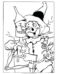 scarecrow coloring pages kindergarten lego batman kids printable