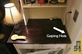 Kitchen Desk Furniture Sps Adding Trim To The Kitchen Desk The Front Poarch
