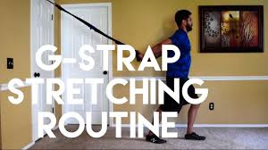g strap suspension trainer stretching series youtube