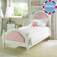 White Small Double Bed Frame by Little Lucy Willow Sammy Girls Small 4ft Double Bed Colour