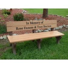 memorial benches personalized memorial benches for parks and schools