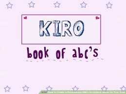 personalized scrapbook albums how to create a personalized abcs scrapbook album for your child
