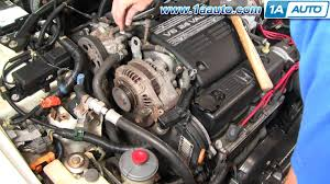 97 honda civic starter how to install replace change alternator honda accord v6 95 97