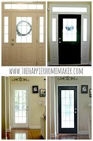 How To Paint Interior Windows Painting Interior Doors Black The Happier Homemaker