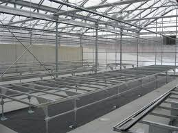 Metal Greenhouse Benches Rolling Benches Evolve Greenhouse Systems