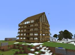 minecraft apartment building blueprint huge apartment building