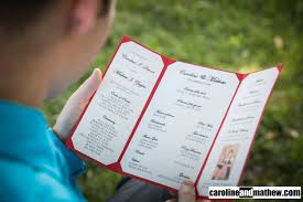 wedding ceremony programs diy wedding ceremony programs our german american