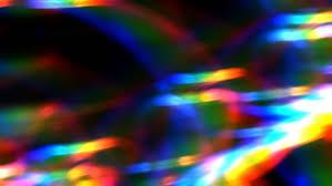 rainbow abstract light background stock footage