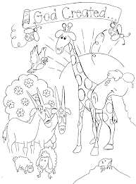 creation coloring pages for preschoolers bible story coloring