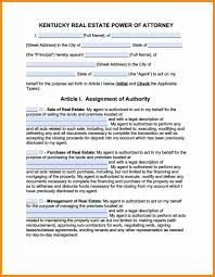 Durable Power Of Attorney Texas Form by 5 Durable Power Of Attorney Form Kentucky Action Plan Template