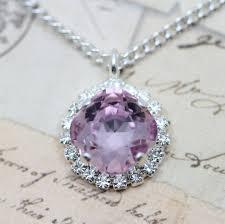 light purple necklace images Bracelet light amethyst purple orchid silver bridesmaids jewelry jpeg
