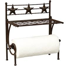 lone star paper towel holder shelf i like it much better than a