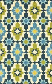 Yellow And Blue Outdoor Rug Surya Som7740 Yellow Blue Outdoor Area Rug Storms Outdoor