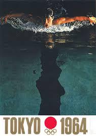 design spiele plakat für die olympischen spiele in tokyo 1964 design by yusaku