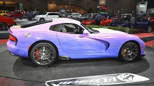 Dodge Viper 1970 - one off dodge viper gtc arrives in chicago with special paint