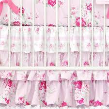 Shabby Chic Crib Bedding Sets by Caden Lane Shabby Chic Ruffle Crib Bedding Bumper Less Baby
