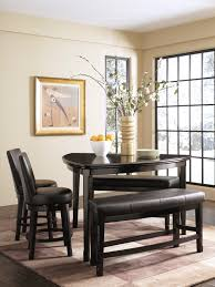 Furniture Every Dining Room Needs A Sturdy Triangle Dining Table - Counter height dining table swivel chairs