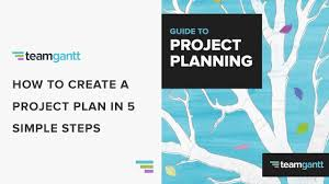 design a plan how to create a project plan in 5 easy steps youtube