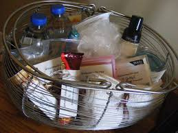 Home Welcoming Gifts Overnight Guest Basket The Taylor House